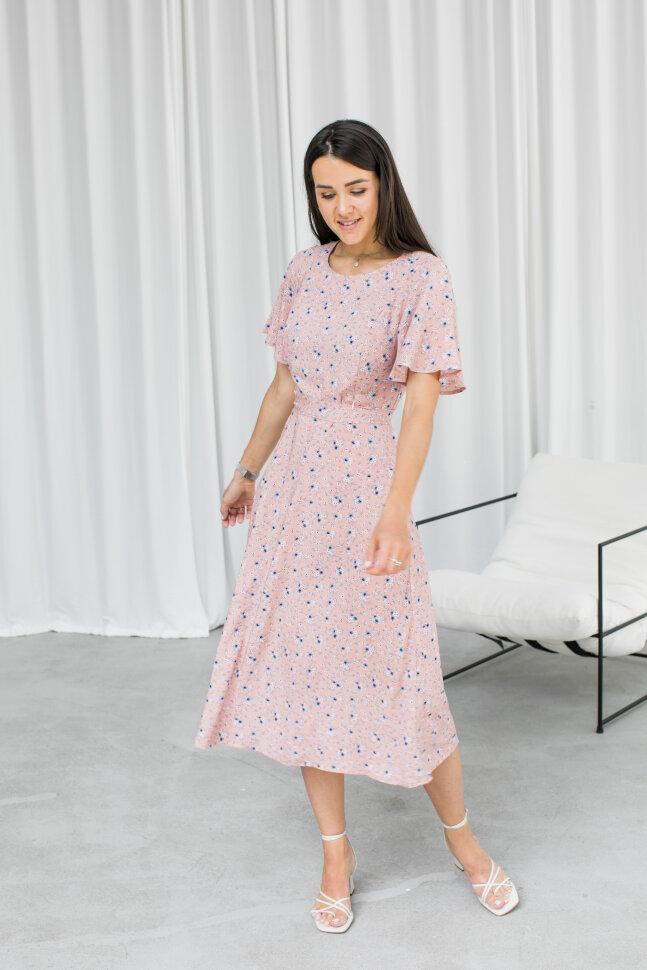 Платье Emmanuel. Бежевое