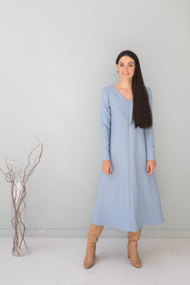 Платье Мэри, голубой