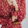 Платье «Техас», бордо